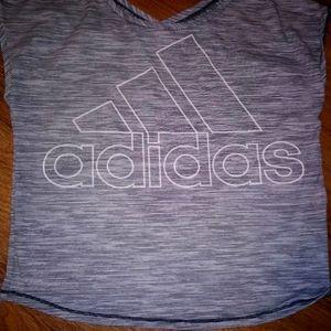 Adidias crop top size L
